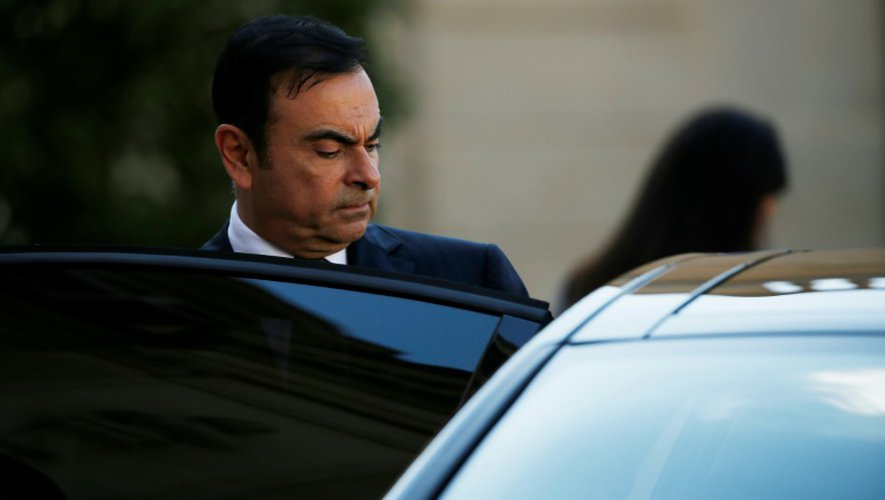 Le PDG de Renault Carlos Ghosn a exercé des options d'achat d'actions