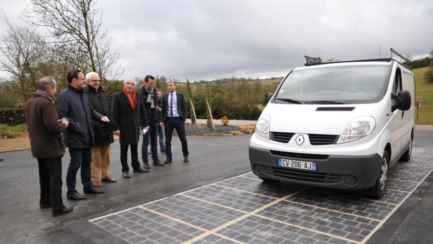 Innovation : la route solaire s'élance depuis l'Aveyron et Saint-Jean d'Alcapiès