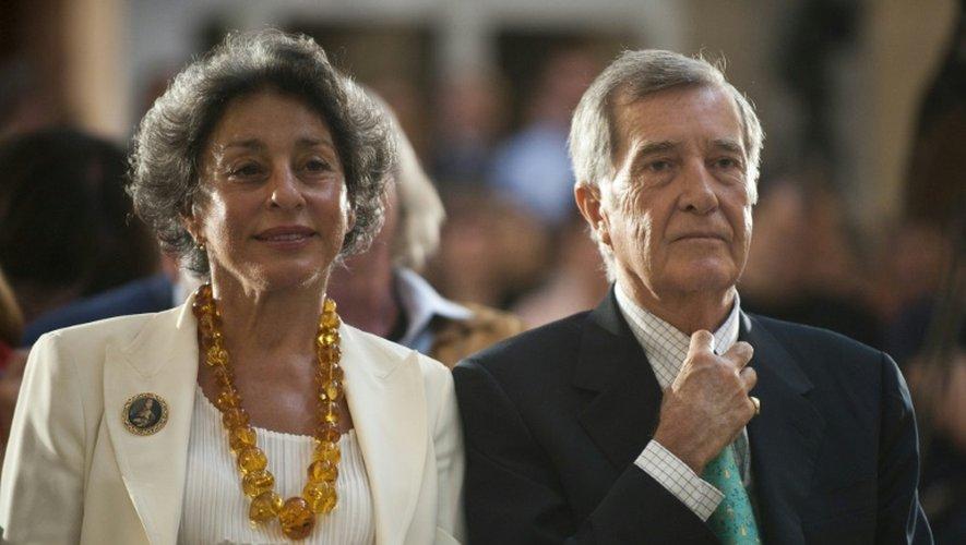 Le prince Adam Karol Czartoryski et son épouse Josette Calille 24 août 2011 à Berlin