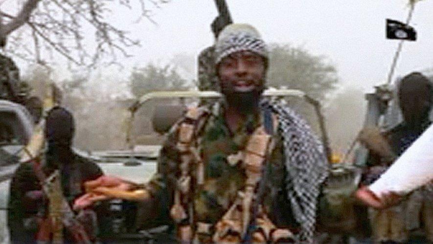 Capture d'écran datant du 29 décembre 2016 d'une nouvelle vidéo du chef de Boko Haram, Abubakar Shekau, dans un endroit tenu secret.
