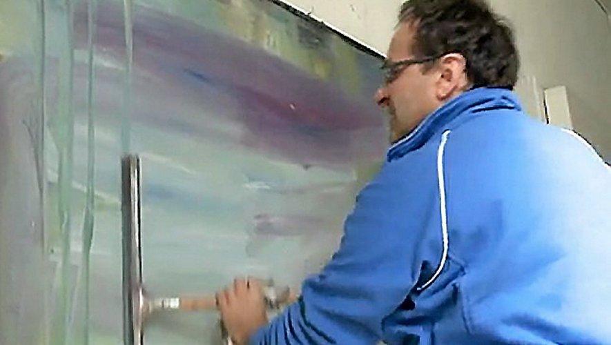 Decazeville : les peintures de Michel Cure aux cimaises de La Strada