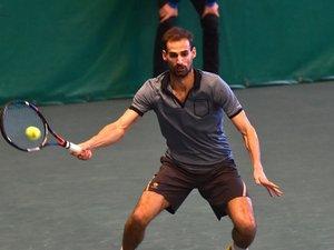 Tennis, tournoi de Noël : Dorian Descloix sans surprise et en moins d'une heure