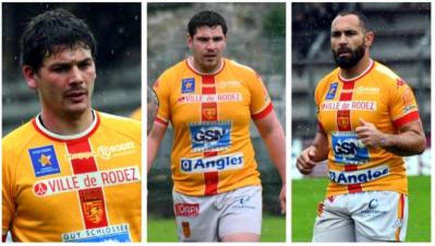 Rugby : trois joueurs ruthénois tirent leur révérence