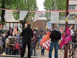 En direct du défilé du 1er mai à Rodez