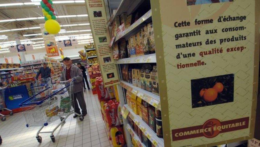 Le commerce équitable a dépassé pour la première fois le milliard d'euros de ventes aux consommateurs en 2017, selon le syndicat professionnel Commerce Equitable France.