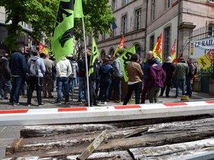 Manifestation cheminots