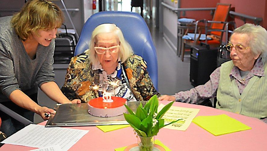 Reine et Paulette plus que centenaires !