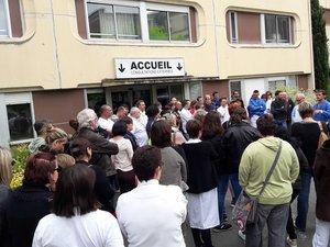 La grève se poursuit à l'hôpital de Decazeville : les salariés iront à l'ARS
