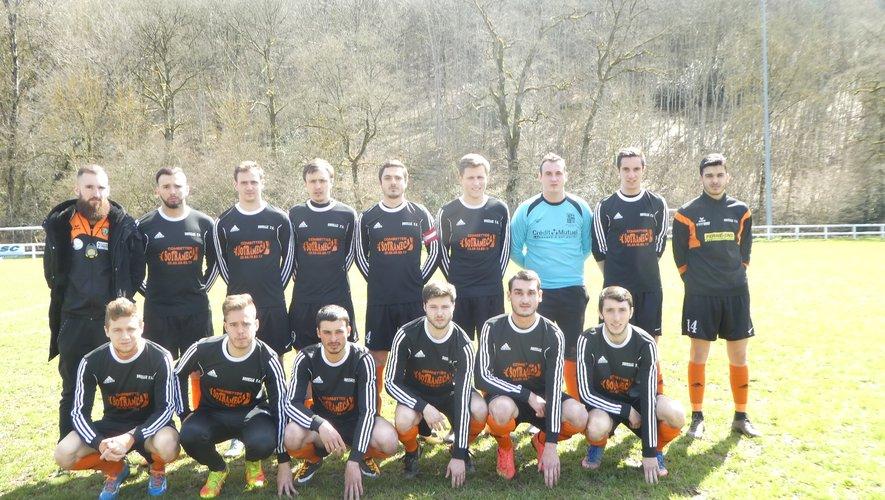 L'équipe II de Druelle en finale de la coupe de l'Aveyron