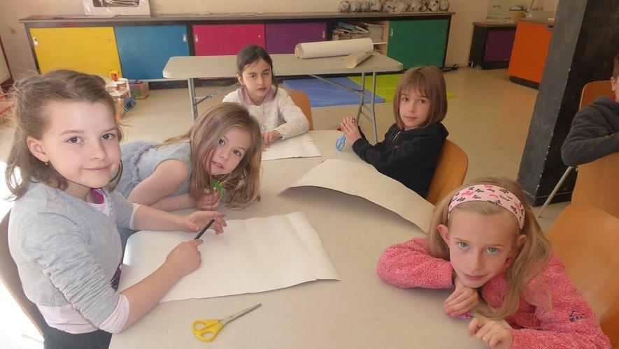 De nombreuses activités sont proposées aux enfants de 3 à 9 ans lors des mercredis récréatifs.