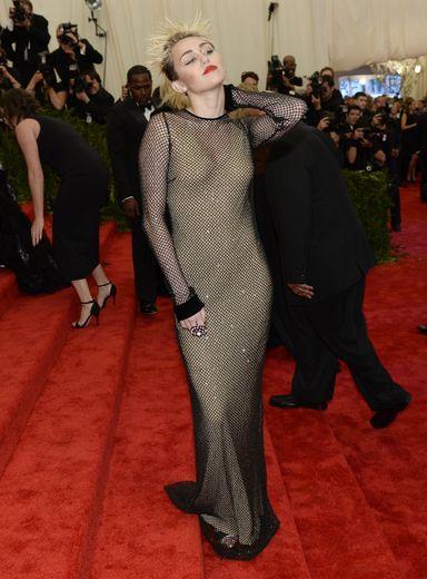 Miley Cyrus au Met Gala 2013