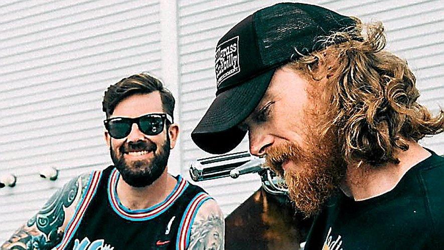 Le duo, originaire de l'Indiana, est en tournée européenne.