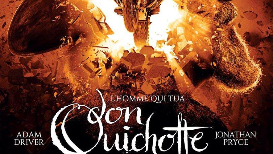 """POSTER: """"L'homme qui tua Don Quichotte"""" de Terry Gilliam"""