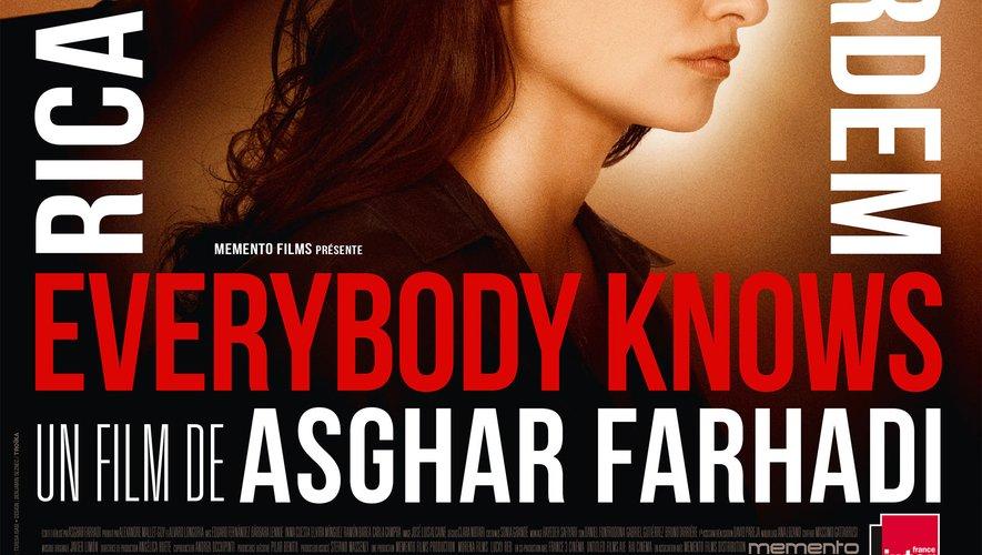 """""""Everybody Knows"""", qui fera l'ouverture de Cannes le 8 mai, est en lice pour la Palme d'or"""