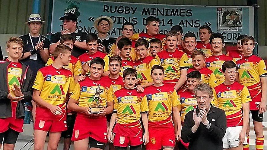 Les U14 bons finalistes face à Toulouse, et peuvent espérer une place au Challenge de France.
