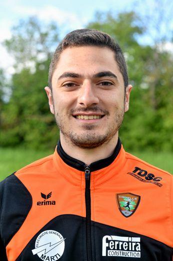 Jérémy Delbès, attaquant
