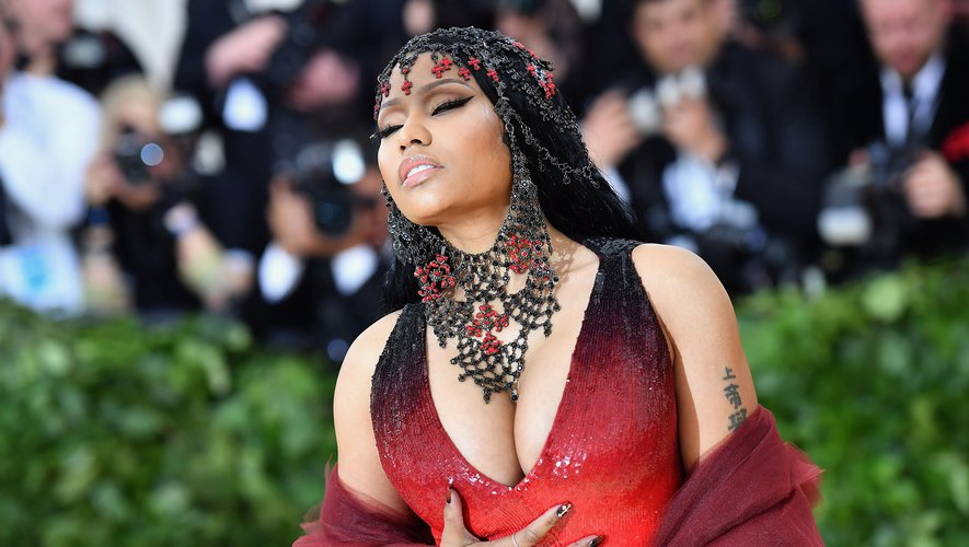 C'est sur le tapis rouge du Met Gala que la rappeuse a annoncé la sortie de son prochain album.