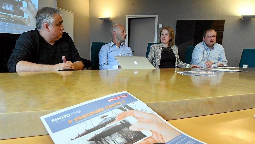 L'association des Photofolies a renoué son partenariat avec la mairie de Rodez.Photo José Torres