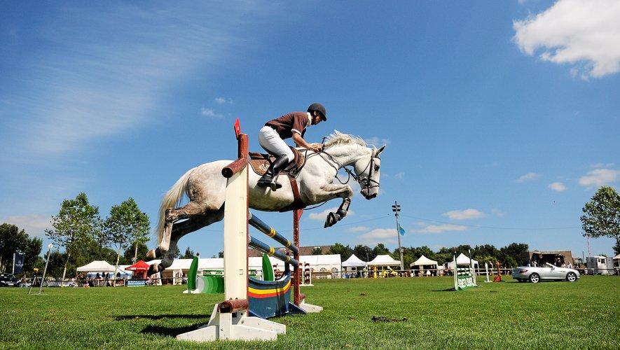 Plus de 1 000 cavaliers sont inscrits au concours de saut d'obstacles.