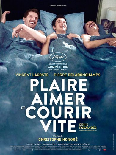 """""""Plaire, aimer et courir vite"""" de Christophe Honoré sort le 10 mai au cinéma"""