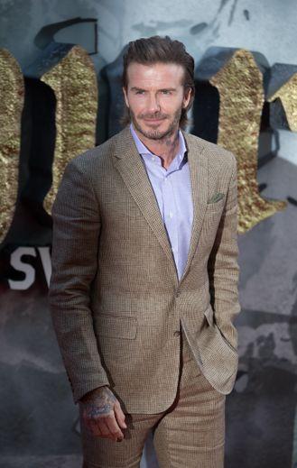 L'ancien footballeur David Beckham plus tourné vers la mode que jamais.