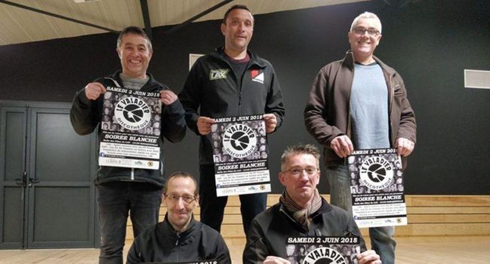 Anciens personnels du Valadier et comité des fêtes de Lax unis pour l'organisation.