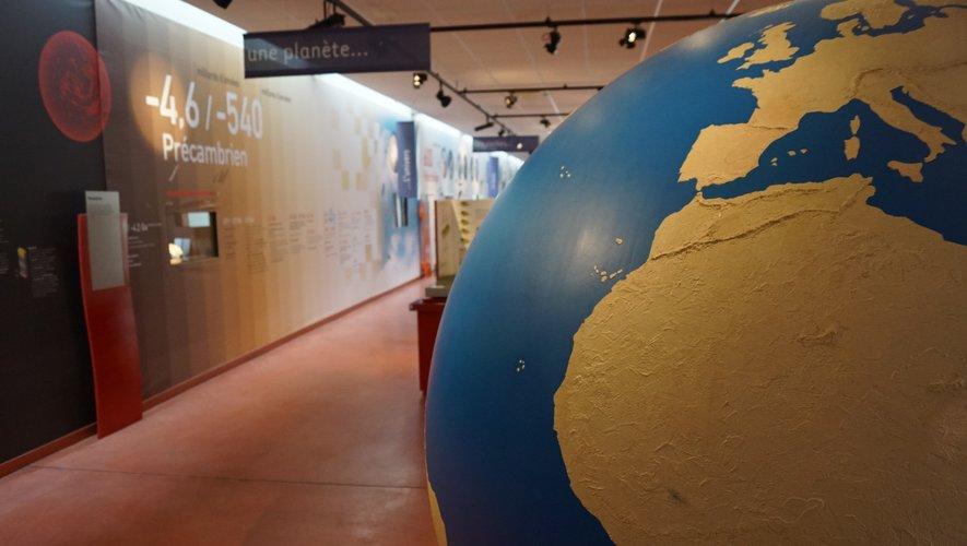 Le musée: de l'origine de la terre à nos jours...