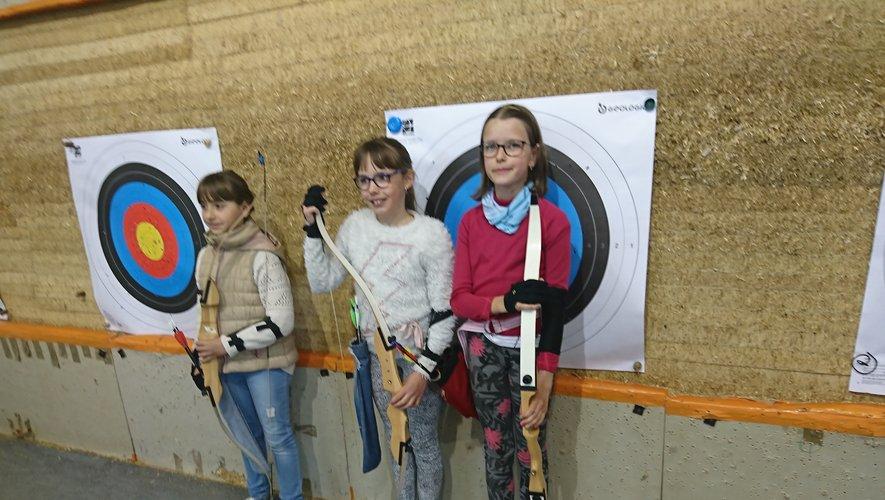 Nos jeunes Bozoulaises après la compétition.