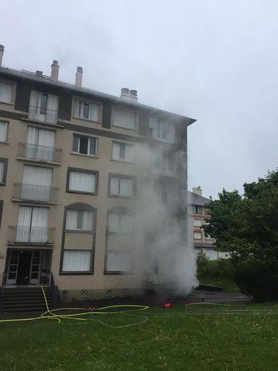 Onet-le-Château : incendie dans un immeuble, les habitants évacués