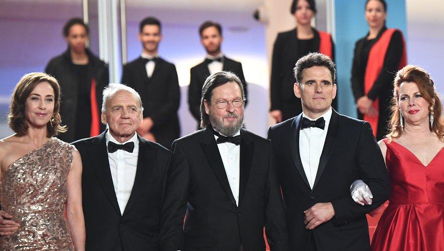 """Lars von Trier a fait son retour lundi soir sur la Croisette avec """"The House that Jack Built"""", un film ultra-violent aux scènes parfois insoutenables."""