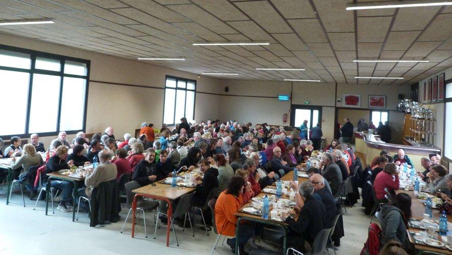 Le Piboul - Sainte-Juliette-sur-Viaur Près de 200 marcheurs pour la 30e édition de la Rando-Santé