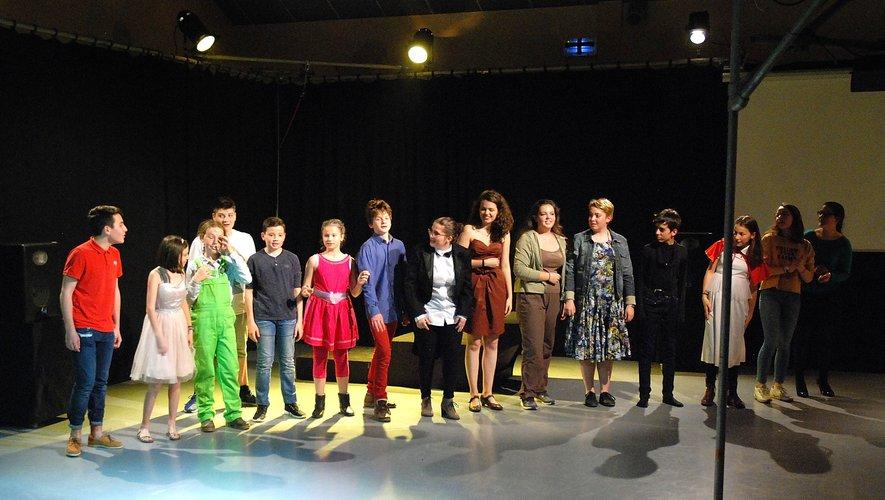 Les jeunes comédiens en résidence à Camjac