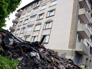 Onet Incendie d'un immeuble : « On a dû sauter par le balcon »
