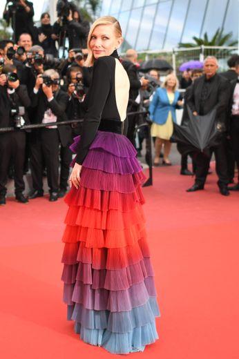 L'actrice australienne Cate Blanchett, le 14 mai 2018 à Cannes.