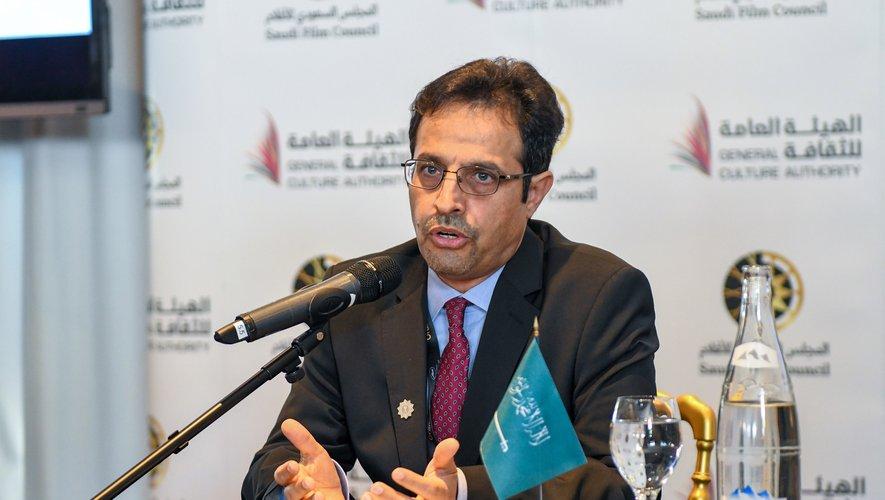 Ahmad bin Fahd Almaziad, directeur général de l'Autorité générale de la Culture en Arabie Saoudite