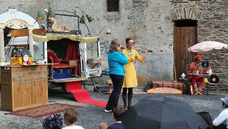 Fijaguet a accueilli théâtre et chant choral