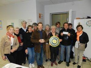 Solidarité  Deux associations aidées par Inner Wheel