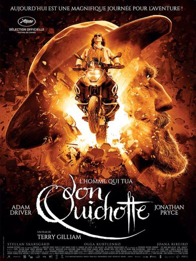 "POSTER: ""L'homme qui tua Don Quichotte"" de Terry Gilliam"