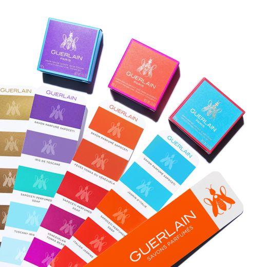 Les Sapocetis, les savons parfumés de Guerlain, sont proposés en exclusivité au Bon Marché jusqu'au 17 juin.