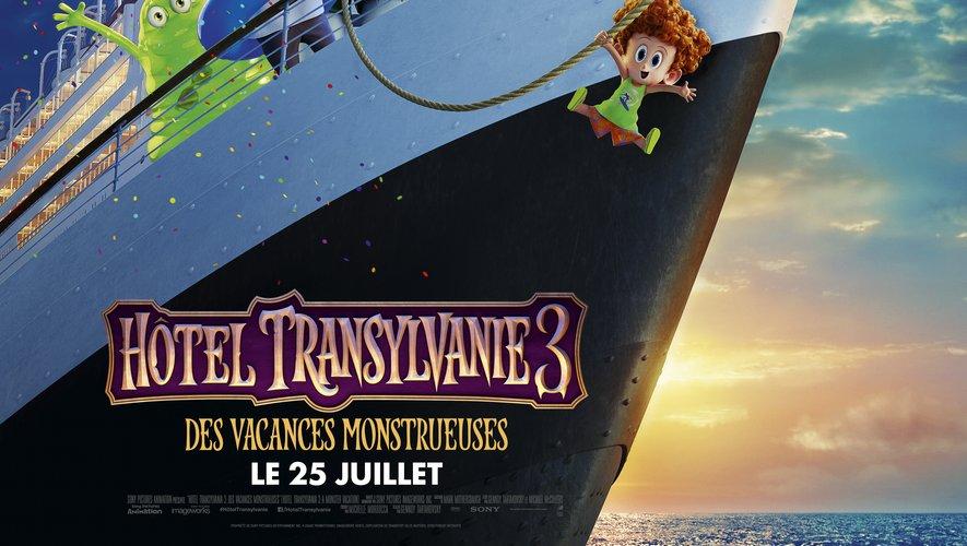"""""""Hôtel Transylvanie 3"""" sortira le 25 juillet au cinéma"""