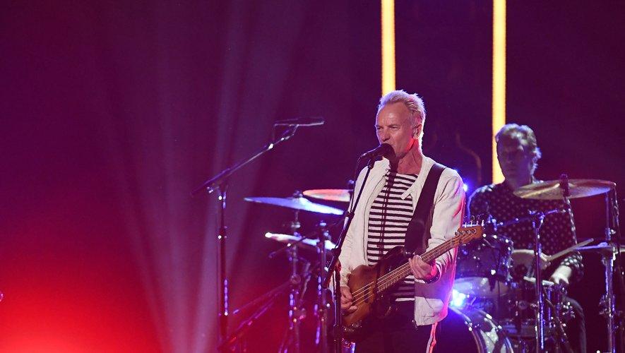 Sting a inauguré le nouveau Grand Studio de RTL, lors d'un concert enregistré en public qui sera diffusée vendredi à 19H00 sur RTL 2