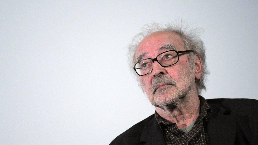 """""""X + 3 = 1, c'est la clé du cinéma"""", a tenté d'expliquer à la presse Jean-Luc Godard, en lice pour la Palme d'or 2018"""