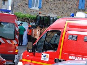 Les pompiers aveyronnais ont tenté de sauver les deux victimes.