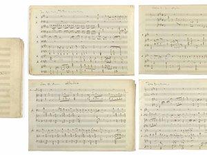 Christie's fête les 100 ans de Debussy en vendant un de ses manuscrits