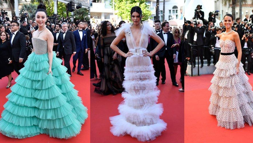 Volants - Fan Bingbing, Kendall Jenner, et Bruna Marquezine.