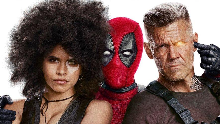 """Josh Brolin et Zazie Beetz ont rejoint Ryan Reynolds dans le deuxième opus des aventures de """"Deadpool""""."""