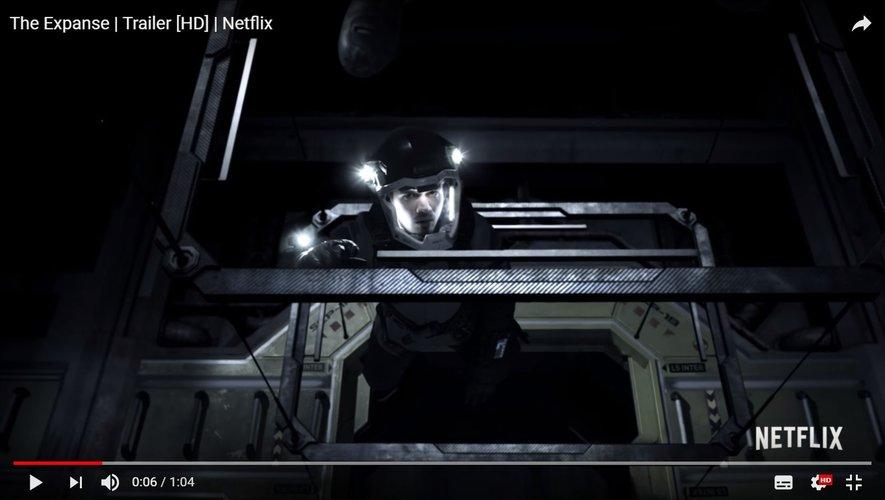 """La série de science-fiction """"The Expanse"""" est diffusée depuis décembre 2015 sur Syfy."""