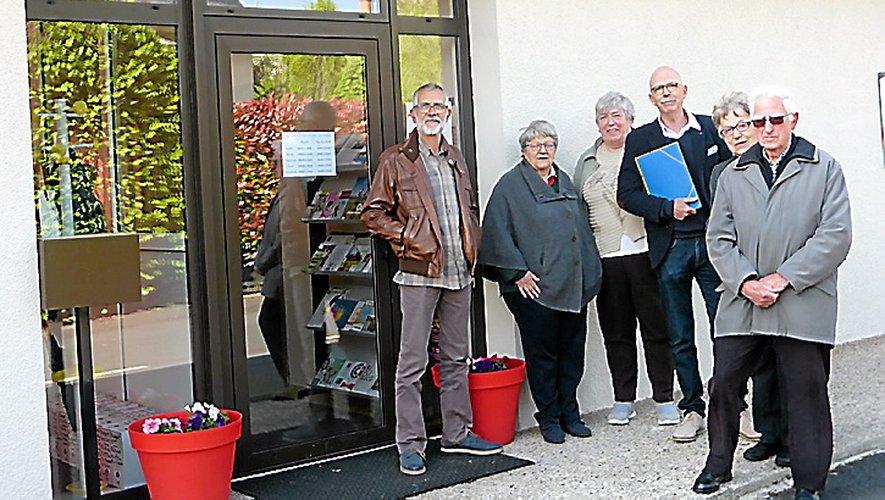 Le collectif du Carladez a été reçu par la conseillère départementale du secteur.