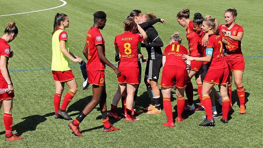 Football féminin : à la pause, Rodez souffre mais est toujours en Division 1