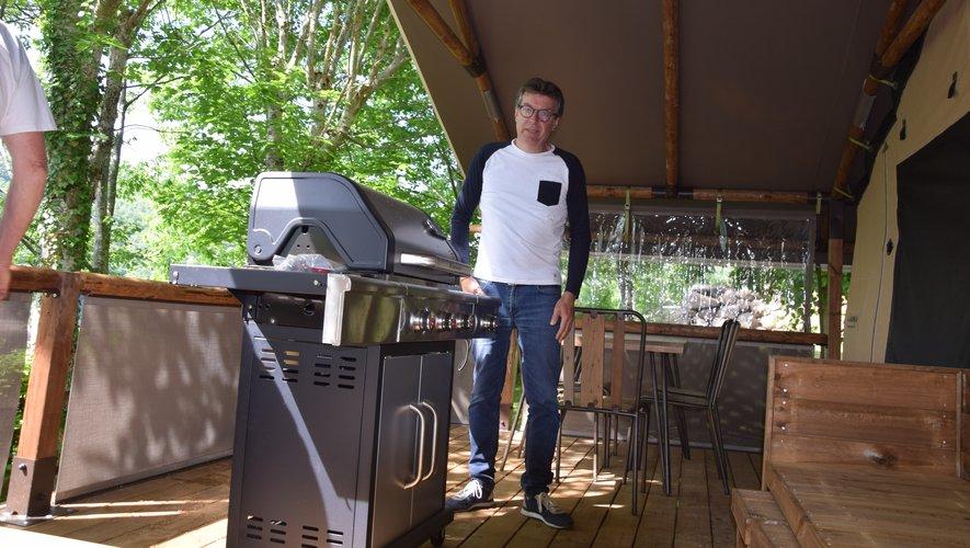 Tourisme Le camping de la Source monte en gamme